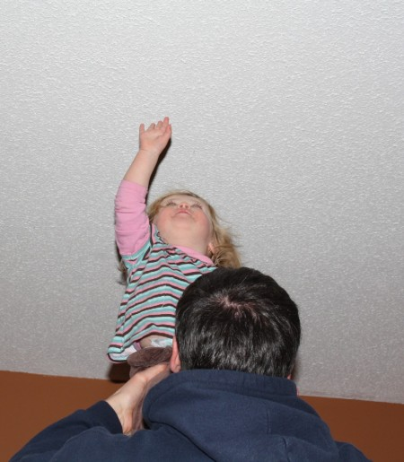 Touching the ceiling is the newest game